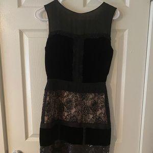 Jessica Simpson Velvet and Sequin Dress
